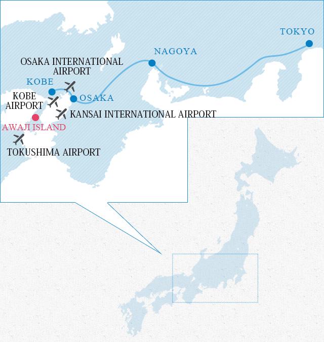 Access to Awaji Island [Official] Awaji Island Tourism Guide