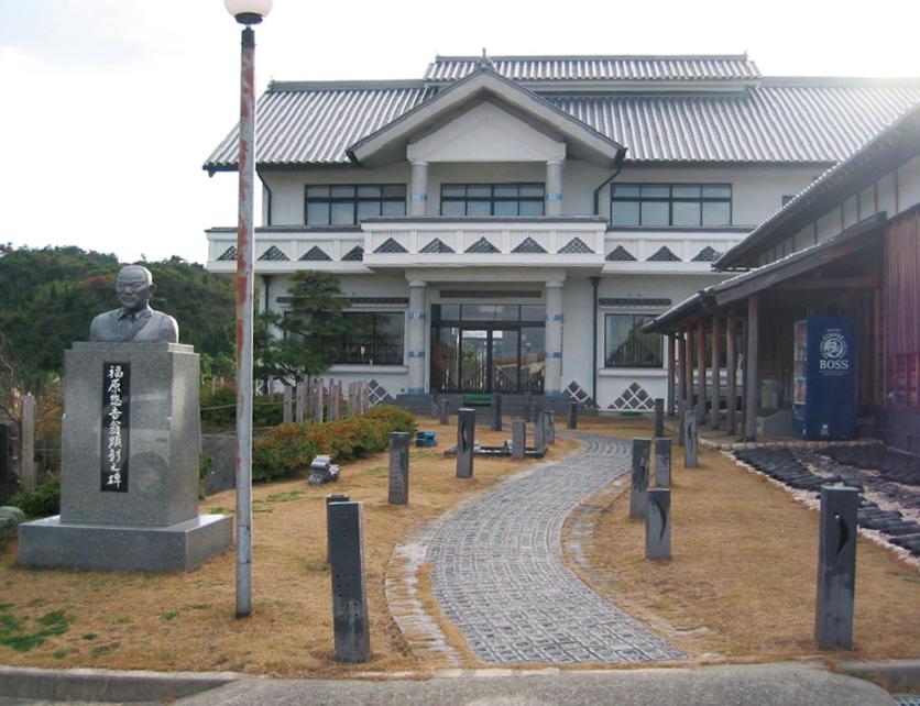 南あわじ市産業文化センター 瓦の展示場