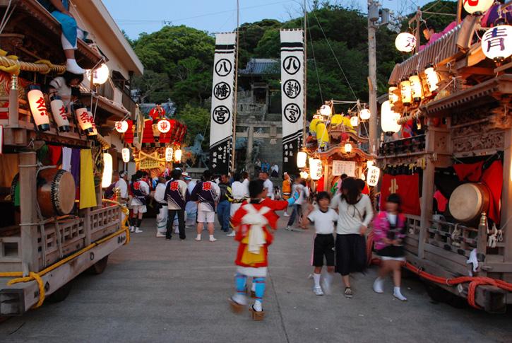 沼島八幡神社/5月:春祭り