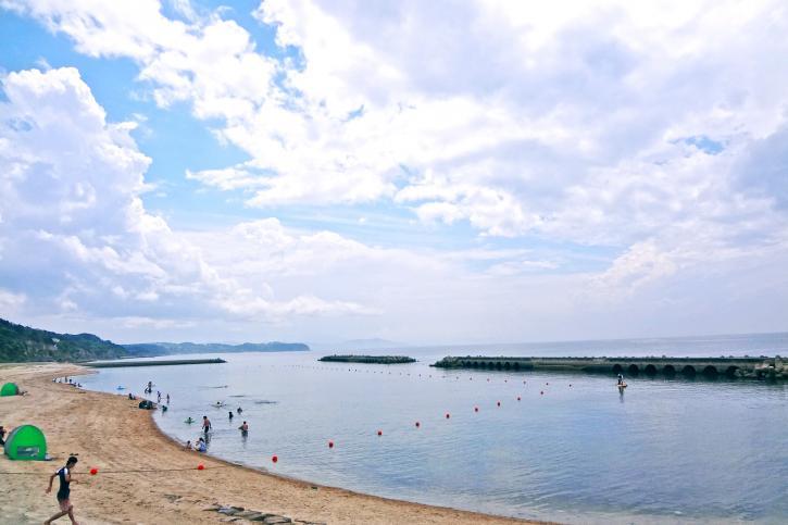 新都志海水浴場