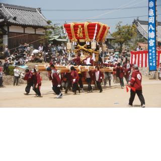 亀岡八幡神社/4月:春祭り