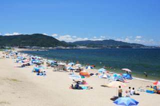 慶野松原 海水浴場/キャンプ場