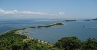紀淡海峡と由良・成ヶ島